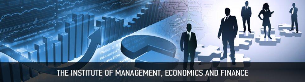 Портал КФУ \ Academic Units \ Economics \ The Institute of Management, Economics and Finance