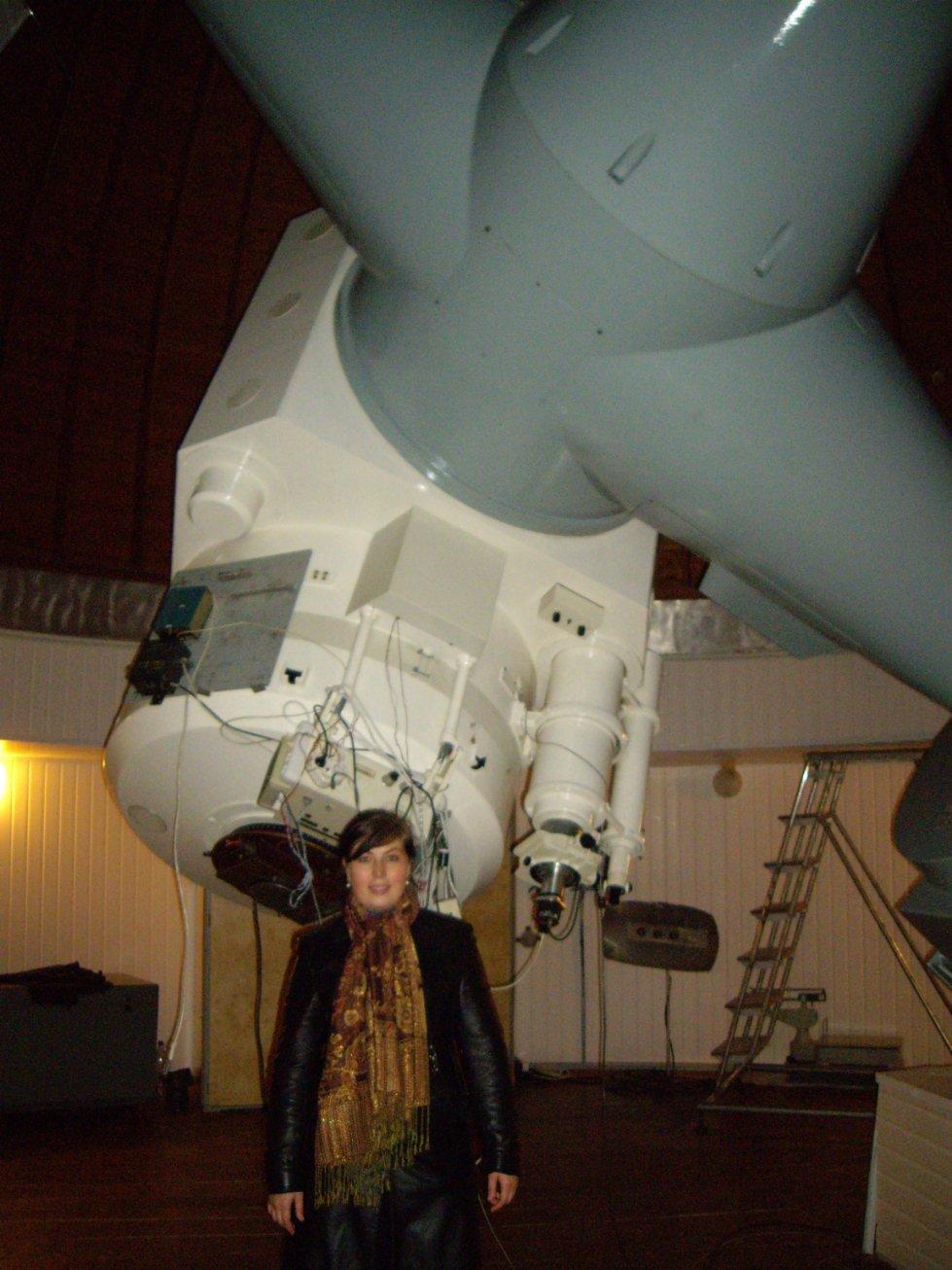 Наблюдения на телескопе БТА, САО РАН, Нижний Архыз (2009г.)