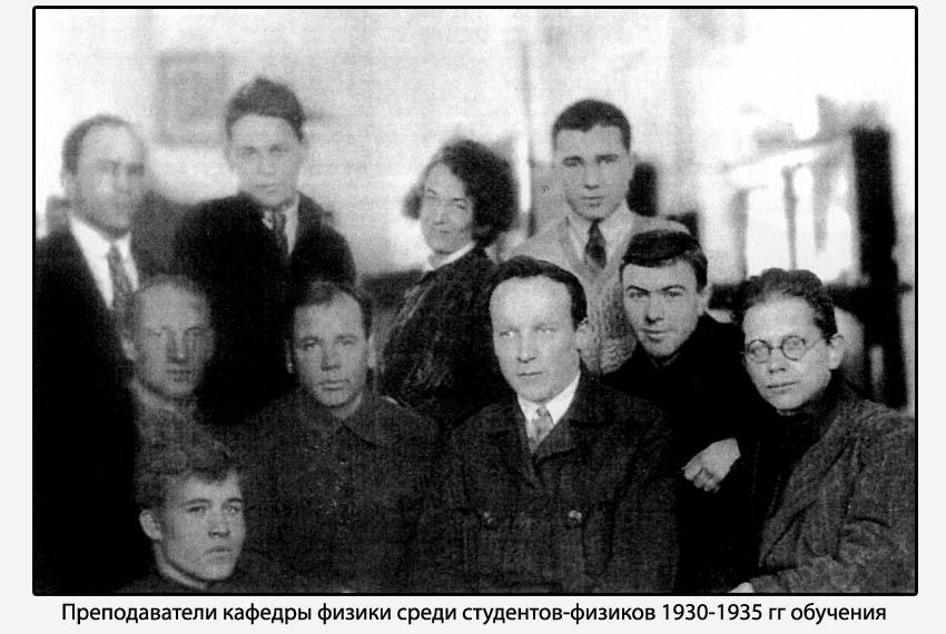 Научная работа (1933 - 1938 гг.)