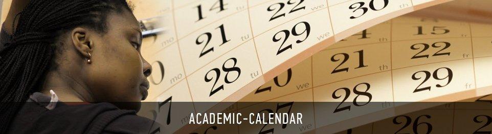 Портал КФУ \ Academics \ Academic Calendar