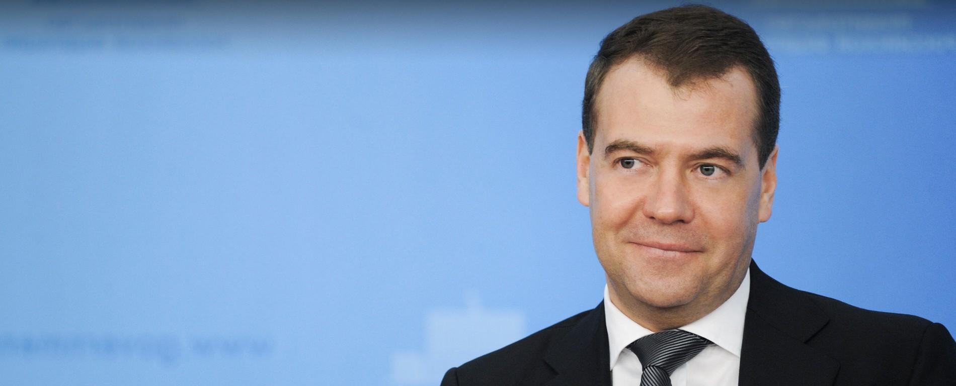 Дмитрий Медведев посещает Казанский университет