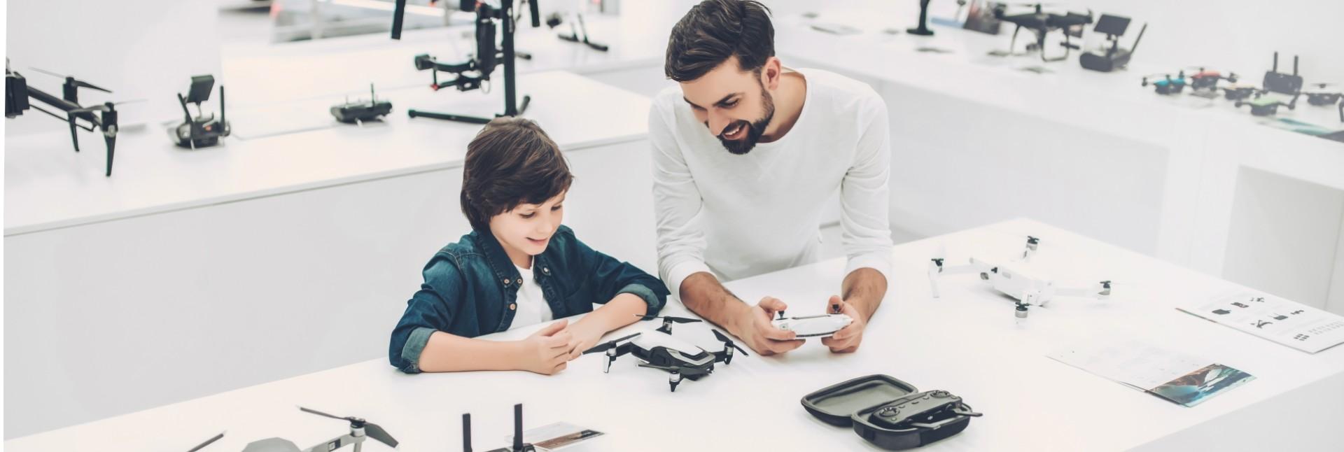 Курсы по конструированию и пилотированию квадрокоптеров для школьников