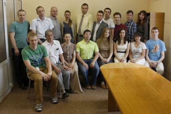 Выпускники кафедры - сотрудники ИСЛ