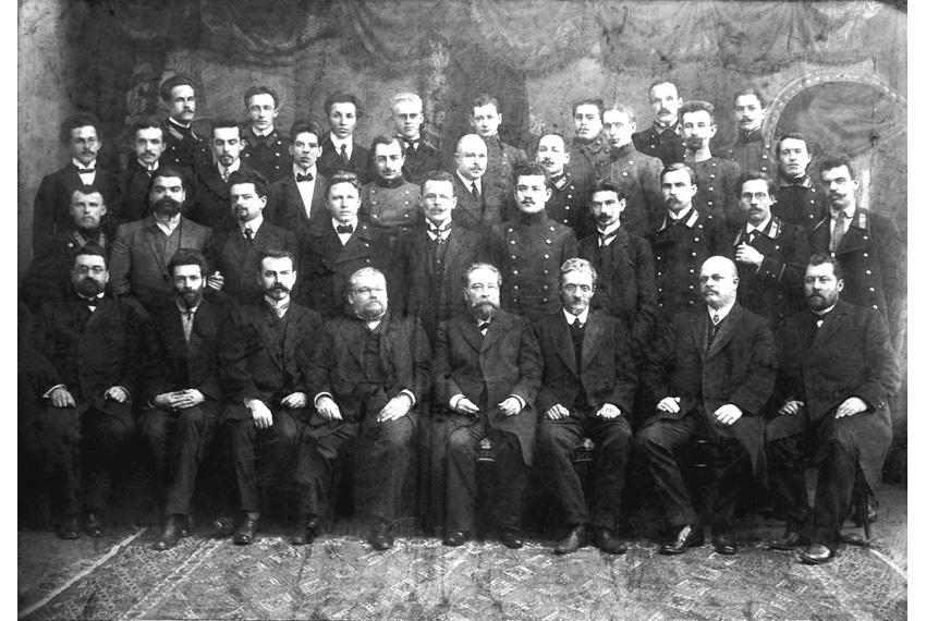Выпуск юристов 1911г.