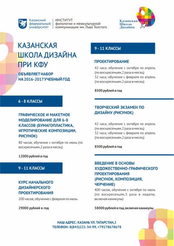 Казанская школа дизайна