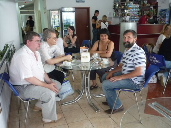 Встреча давних друзей на конференции (Румыния, 2009)