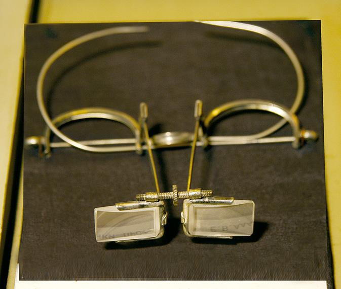 Специальные очки Е.В. Адамюка