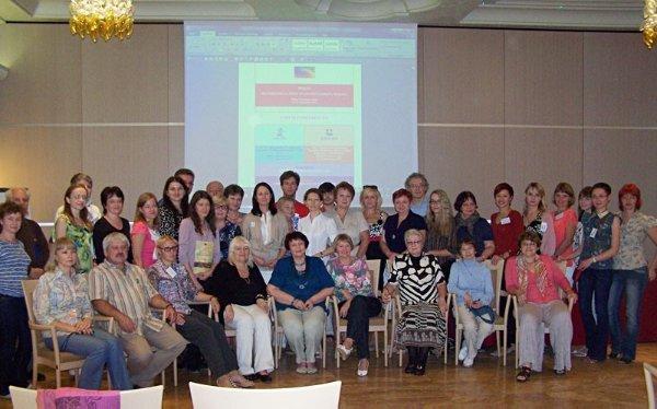 Участники конференции CML (Черногория, 2008). НОЦ ? один из соорганизаторов конференции