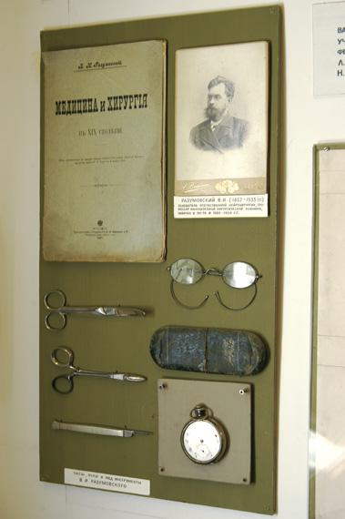Фрагмент экспозиции, посвященный В.И. Разумовскому
