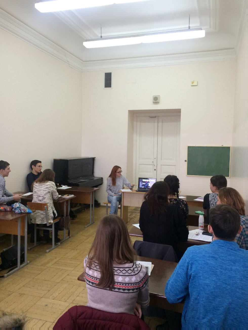 Scientific Student English conference in the Institute of Fundamental Medicine and Biology (groups 01-404 - 01-406) ,студенческая конференция 2016, английский язык
