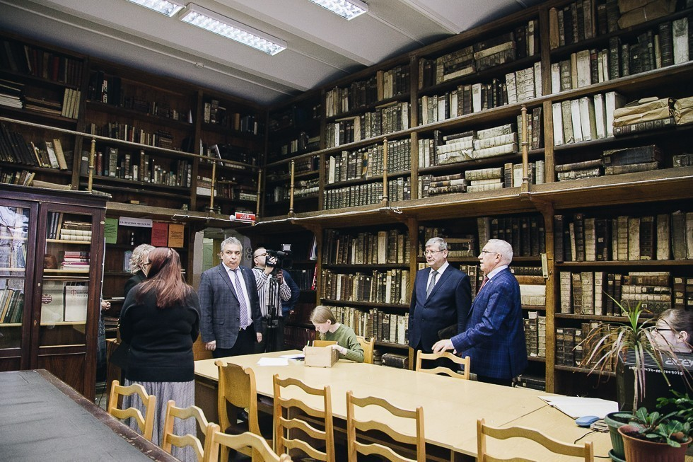 Kazan University visited by Head of Federal Archival Agency Andrei Artizov ,Federal Archival Agency, IIR