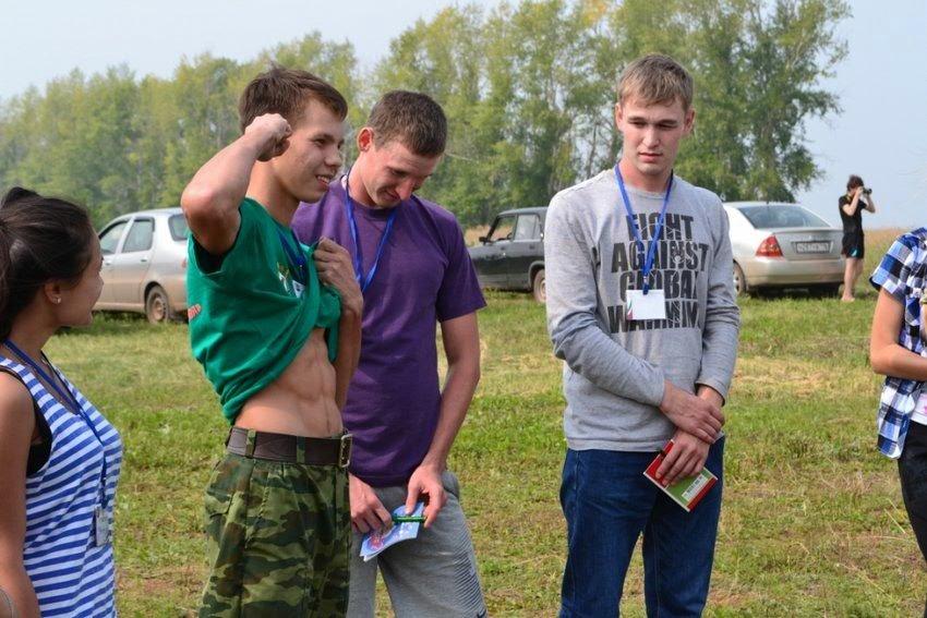 Деревенские фото молодежи
