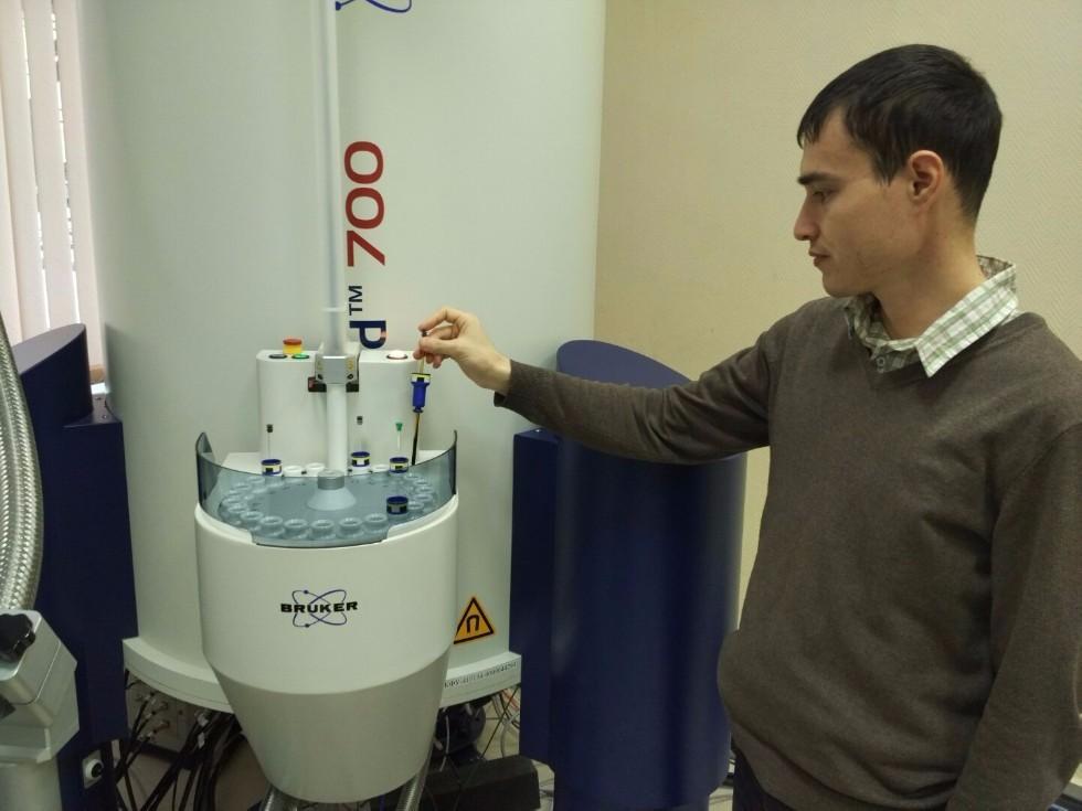 Nuclear Magnetic Resonance Utilized for Petroleum Research ,NMR, IP, NMR-Structure Lab, petroleum, SAU EcoOil, SAU Translational Medicine