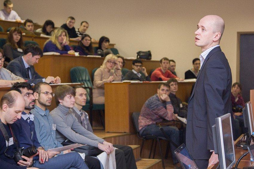 День зимы в казанском университете