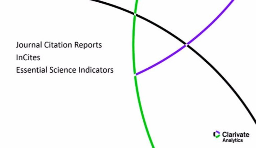 открыт доступ к Incites Journal Citation Reports и