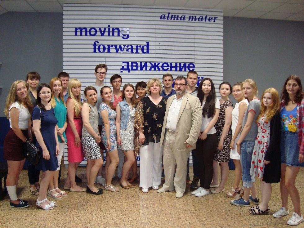 Президент Гильдии маркетологов России высоко оценил студентов-маркетологов КФУ и Летнюю школу маркетинга ,КФУ, летняя школа, маркетинг