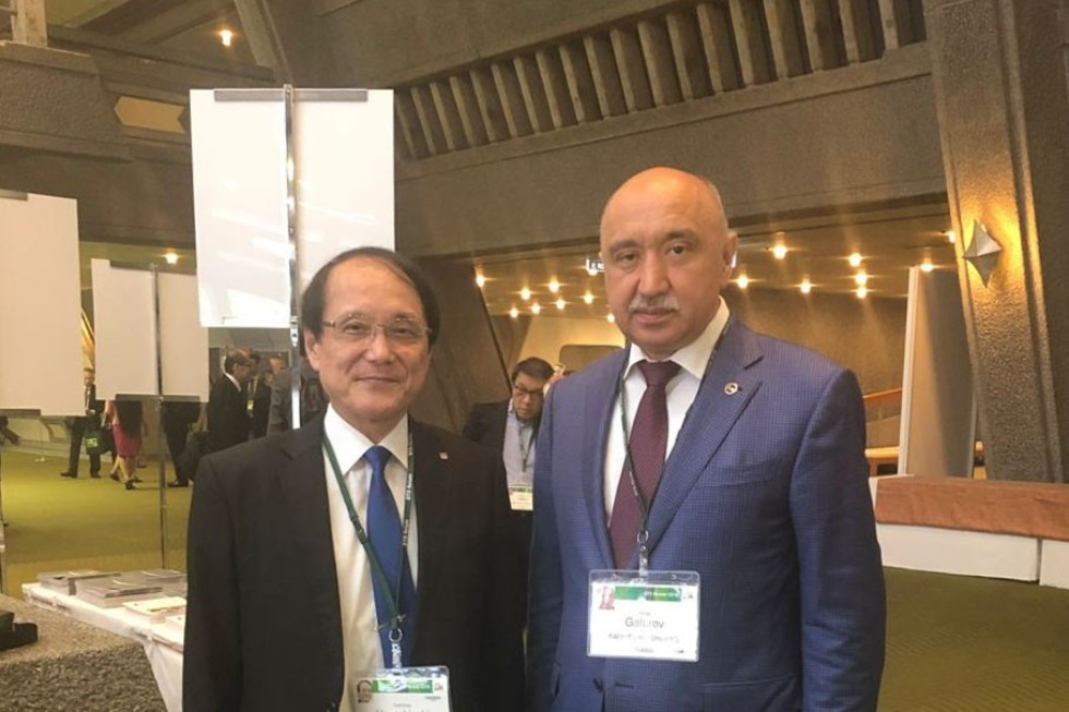 Kazan University delegation in Japan ,Center for Biosystems Dynamics Research, Japan Advanced Institute of Science and Technology, STS Forum 2018, Kanazawa University, RIKEN, Japan