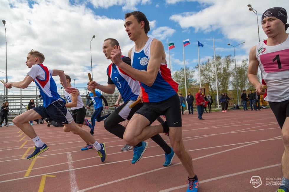 В новом формате состоялась традиционная легкоатлетическая эстафета КФУ , эстафета, КФУ, легкоатлетическая эстафета f12443f48d1