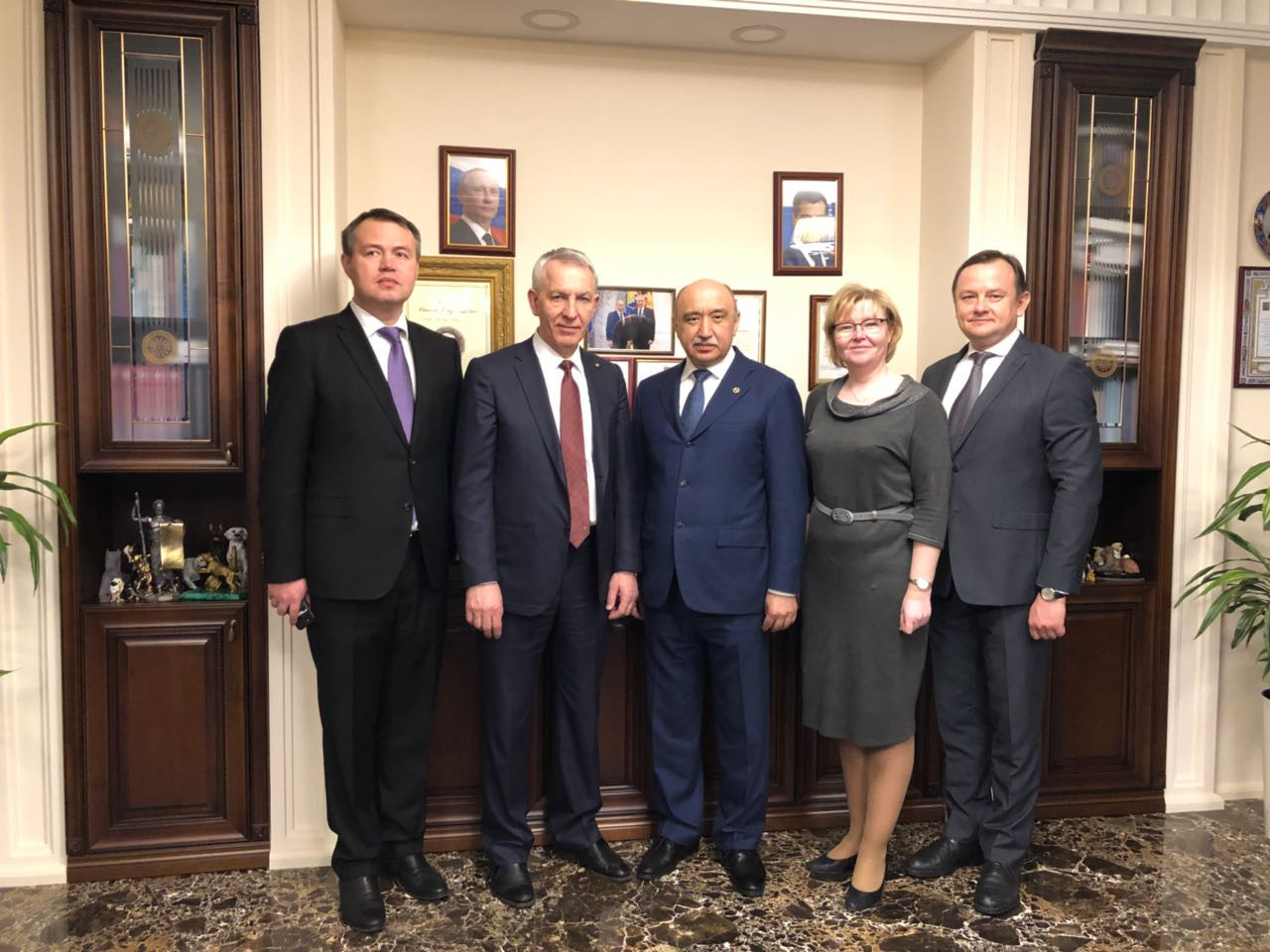 Rector Ilshat Gafurov Visited Almazov National Medical Research Center ,Almazov National Medical Research Center, Saint-Petersburg, University Clinic, cardiology, transplantology
