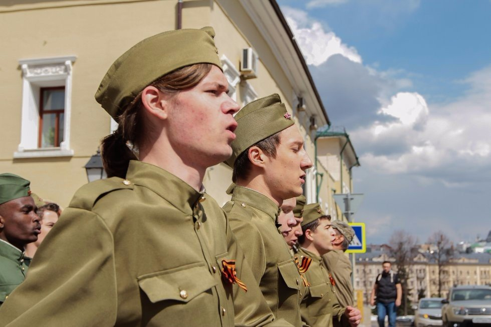 Victory Day Celebrated at Kazan University ,Victory Day, Immortal Regiment, Student Spring, holidays