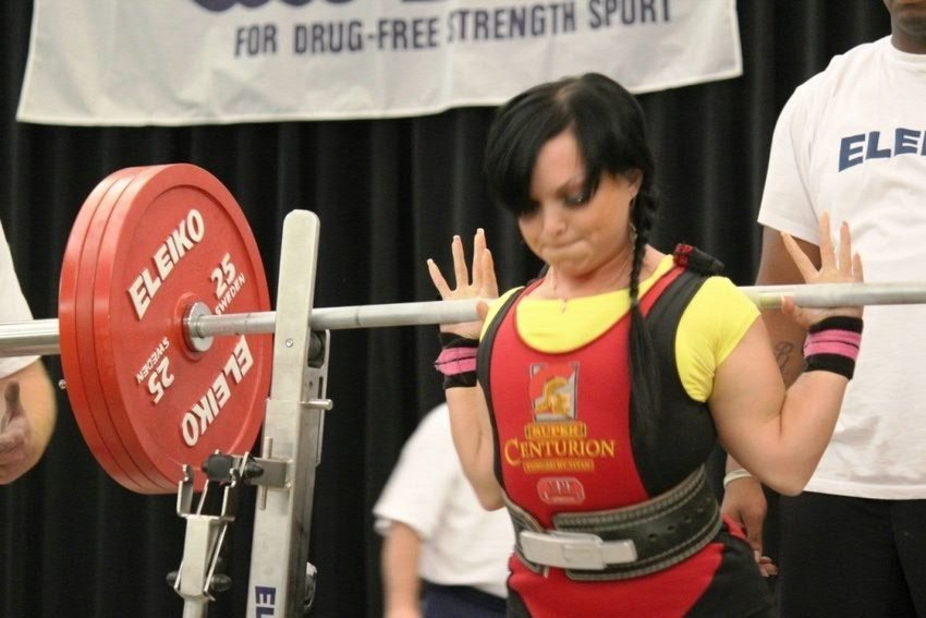 Student from KFU branch in Elabuga got 4 golden medals in powerlifting
