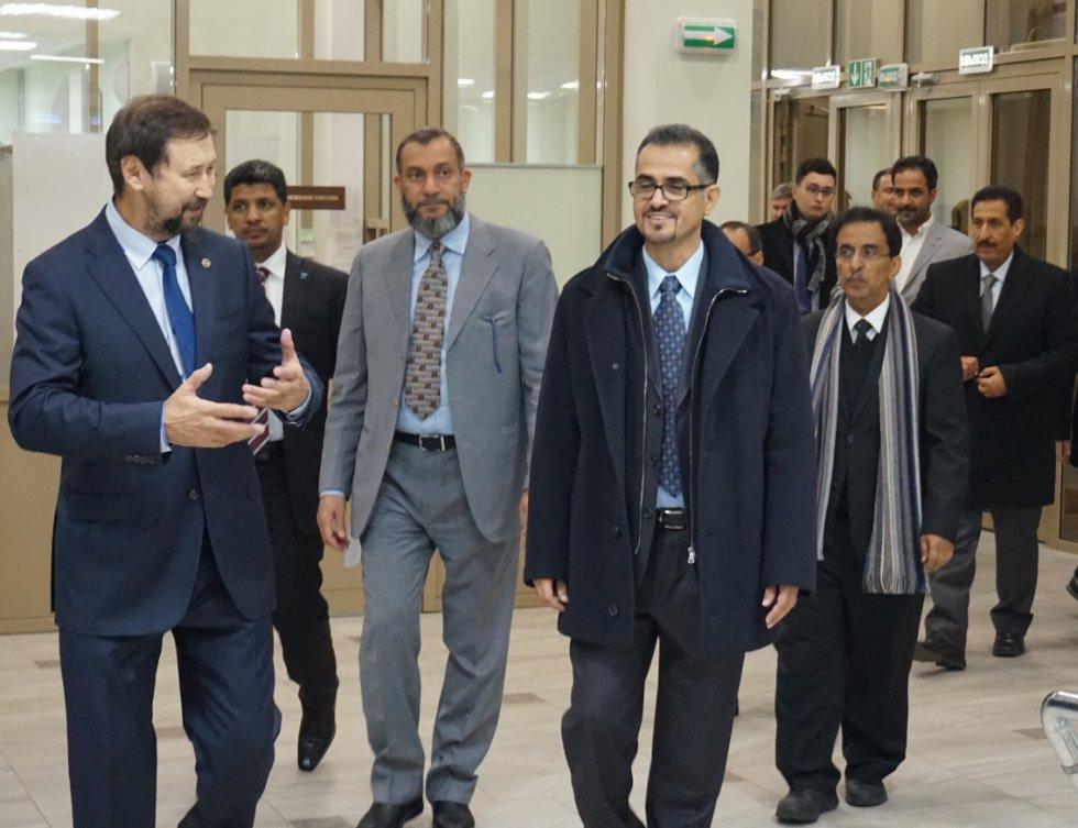 КФУ и 'Saudi Aramсo' обсудили перспективы для сотрудничества ,КФУ, САЕ 'Эконефть', ИГиНГТ, сотрудничество, Саудовская Аравия
