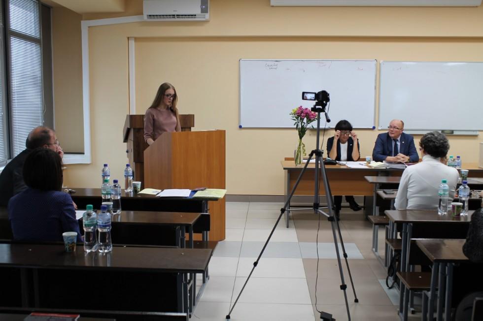 Сегодня диссертационный совет единогласно принял решение присудить  Поздравляем Екатерину Панкову с блестящей защитой диссертации на соискание учёной степени кандидата философских наук Екатерина