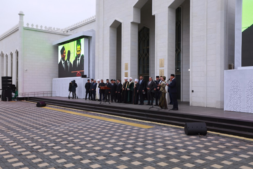 Silk Road Initiatives Discussed at the Opening of the Bolgar Islamic Academy ,Kazakhstan, China, Bolgar Islamic Academy, IIRHOS, President of Tatarstan, State Counsellor of Tatarstan, President of Russia, Presidential Envoy to the Volga Federal District, UNESCO World Heritage