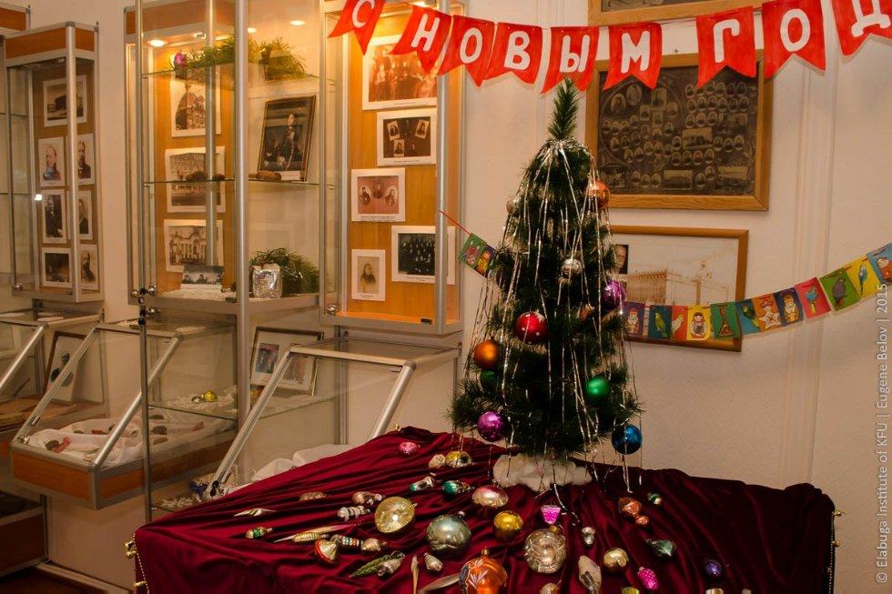 Новогодняя выставка в музее