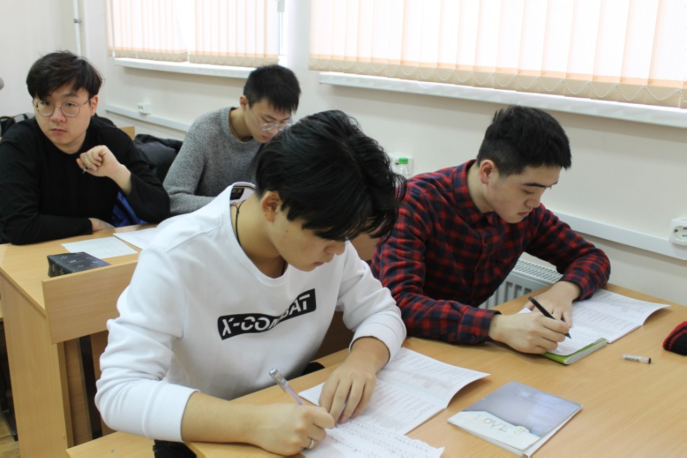 Unified Exam ,KFU preparatory, exams, Russian as foreign language