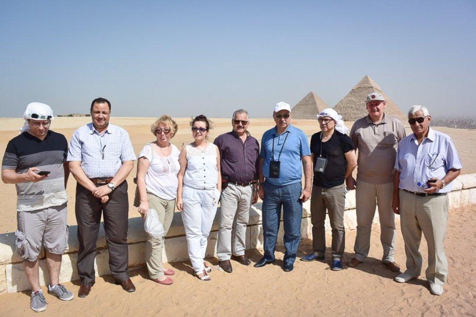 Визит делегации КФУ в Египет ,Египет, Ильшат Гафуров, КФУ