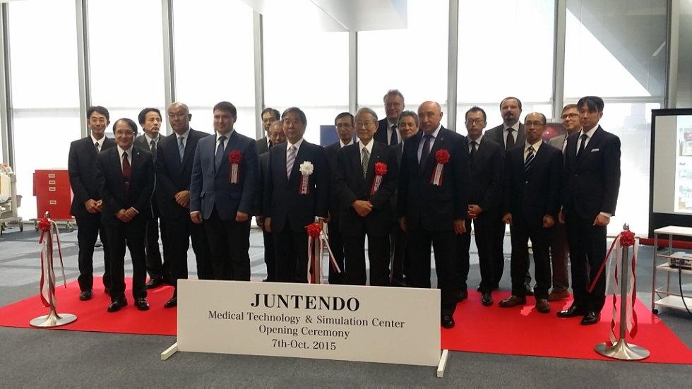 Открытие симуляционного центра в Японии ,Япония, Ильшат Гафуров, КФУ