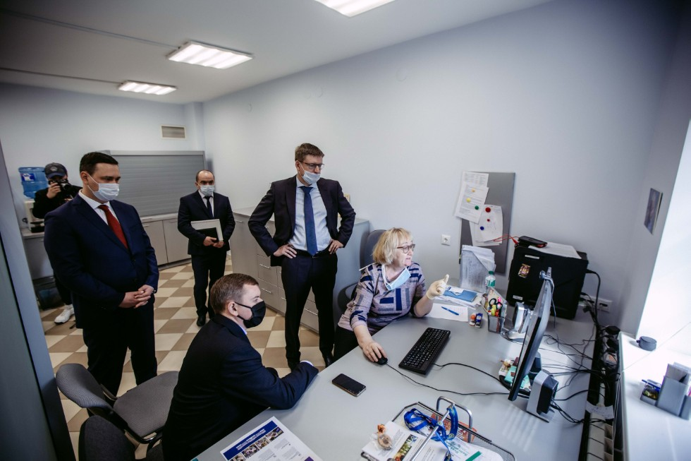 Kazan University toured by Minister of Agriculture and Food of Tatarstan Marat Zyabbarov ,Ministry of Agriculture and Food of Tatarstan, IES, IFMB