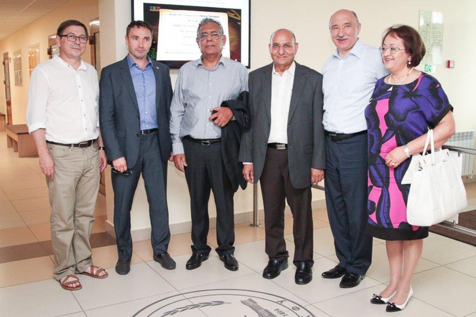 Делегация из Индии ,Индия, Ильшат Гафуров, Институт фундаментальной медицины