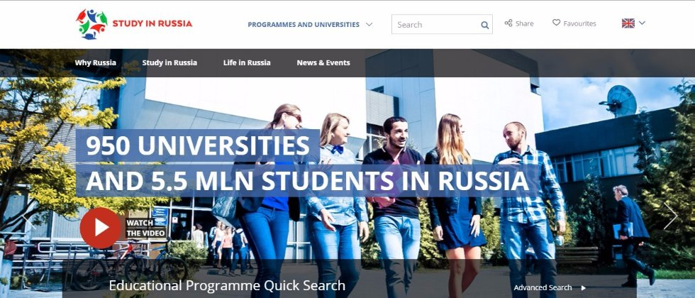 Study in Russia Website: One Click away from the Best Russian Universities ,study in Russia, study in Russian universities, Russian universities