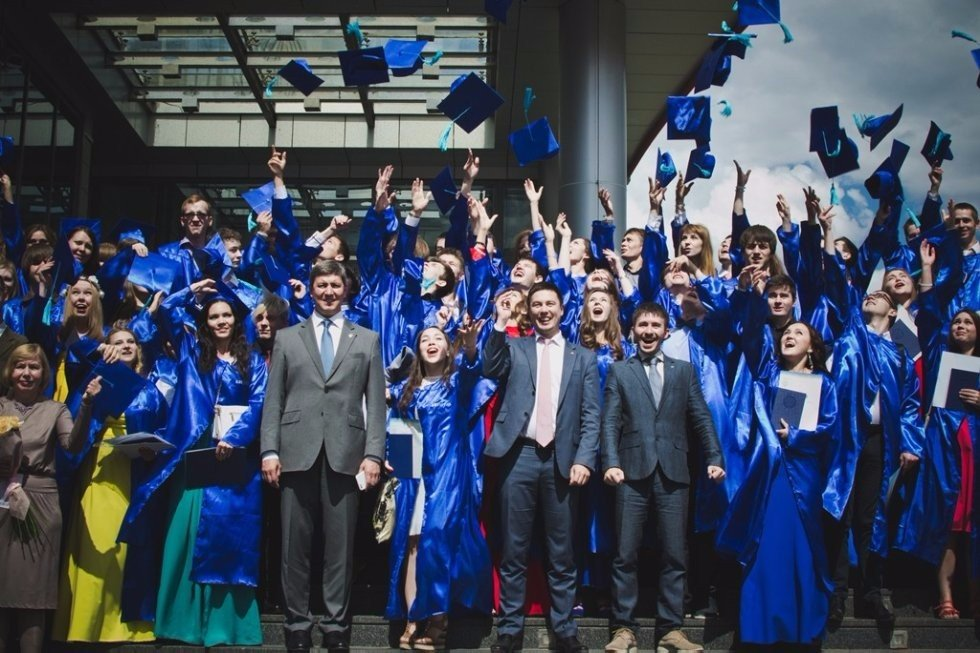 #ITISPROM2015 - We did it! ,Kazan (Volga region) Federal University, Kazan University, ITIS, diplomas, Roman Aleksandrovich Shaikhutdinov, Anton Grachev, ceremony, first graduates,