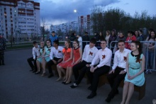 The Student Council of the Law faculty in the Universiade Village