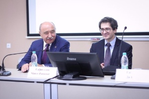 IMF Representative in Russia Gabriel Di Bella Visiting Kazan University
