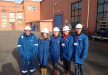 KFU students attended master-class in the largest oil service company 'Schlumberger'