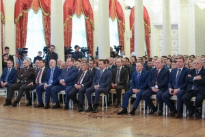 Rector Ilshat Gafurov commended for contributions to legal science
