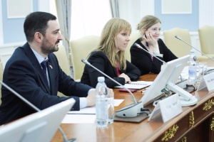 Representatives of British Embassy in Moscow at Kazan University