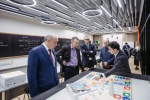 Deputy Minister of Science and Higher Education of Russia Alexander Stepanov toured university facilities
