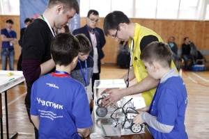 The Republican stage of the All-Russian Robotics Olympiad in the Yelabuga Institute of KFU