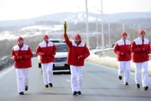 A Flask with the Universiade Flame was Delivered to Vladivostok by Plane