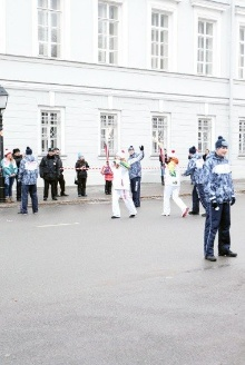 Kazan Federal University welcomed Olympic torch