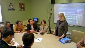 Chinese students want to study the Russian language at the KFU