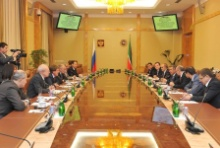 High-Level Meeting with President of Tatarstan