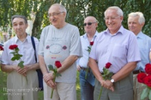 Life dedicated to the University. Tribute to Rector Nuzhin.