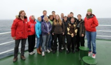 KFU Postgraduate, Mr. Alexey Golikov, Took Part in an International Ecosystem Mapping in the Arctic