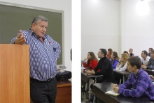 Professor Elisha Tell Ora delivered lecture on Ecology
